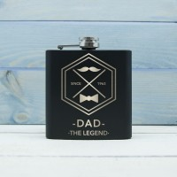 Personalised Hip Flask for Dad | Great Father's Day Gift