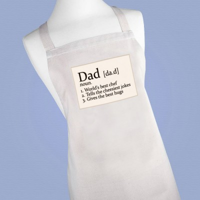 Personalised Chef's Definition Apron